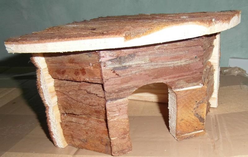 casita esquinera para hamster conejillo de indias conejo natural living jesper casa para roedor. Black Bedroom Furniture Sets. Home Design Ideas