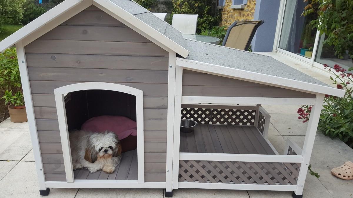 Caseta con terraza falco casetas for Casetas para terrazas